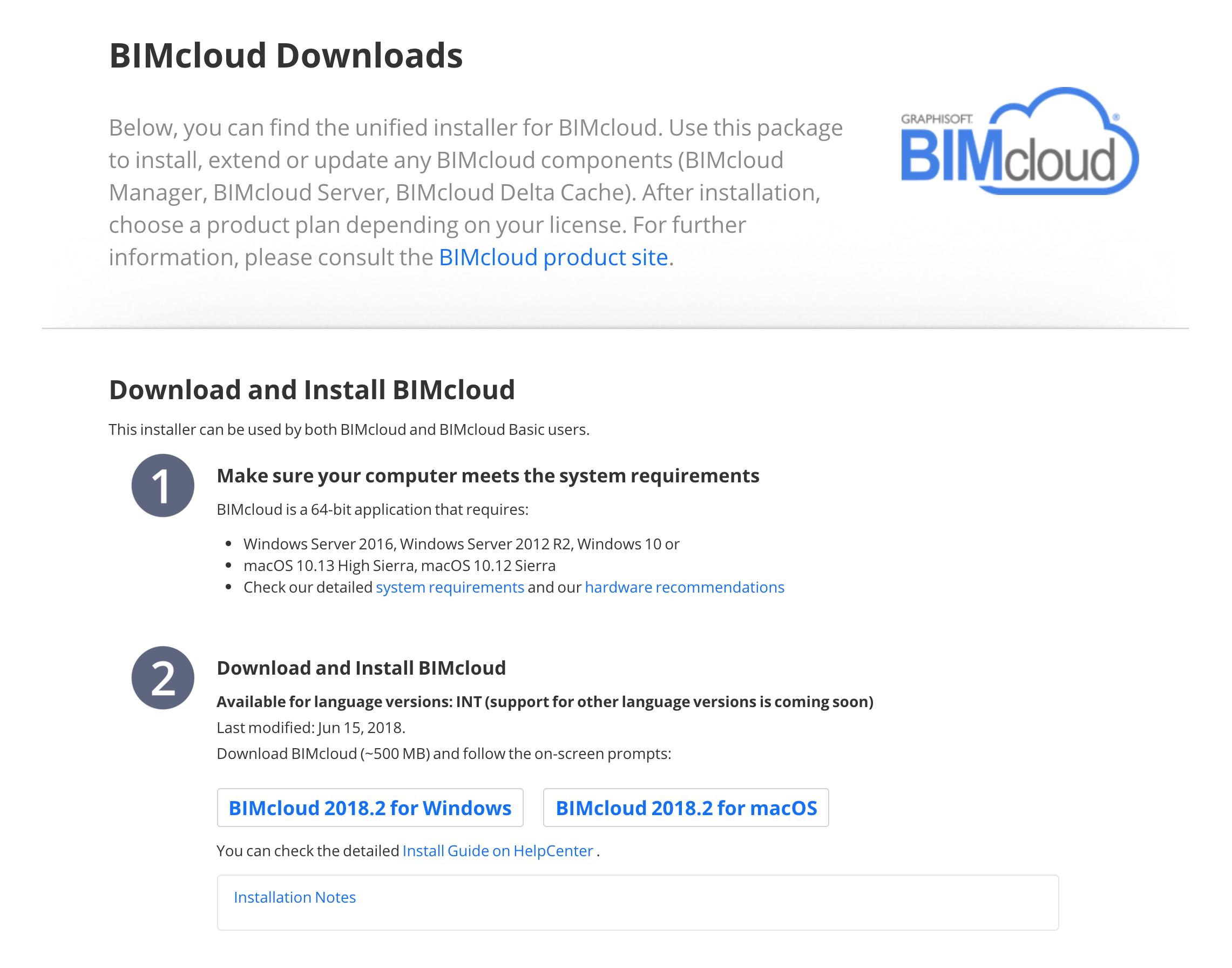 BIM Server Upgrade to BIMcloud Basic | ASIABIM